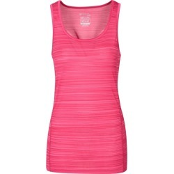 Endurance Striped Womens Vest - Pink found on Bargain Bro UK from Mountain Warehouse