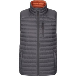 Henry II Down Padded Extreme Mens Gilet - Grey