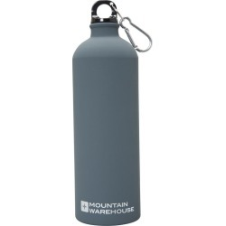 1L Matt Finish Bottle with Karabiner - Grey found on Bargain Bro UK from Mountain Warehouse