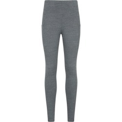 Breathe & Balance High-Waisted Womens Leggings - Grey found on Bargain Bro UK from Mountain Warehouse
