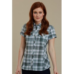 Holiday Womens Cotton Shirt - Green found on MODAPINS from Mountain Warehouse for USD $22.16