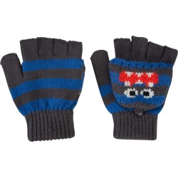 Monster Kids Knitted Glove - Grey