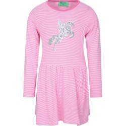 Daisy Stripes Unicorn Kids Dress - Pink found on Bargain Bro UK from Mountain Warehouse