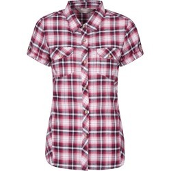 Holiday Womens Cotton Shirt - Pink found on MODAPINS from Mountain Warehouse for USD $10.42