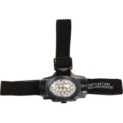 Head Torch 10 LED - Grey found on Bargain Bro UK from Mountain Warehouse