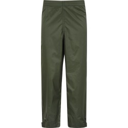 Pakka Kids Waterproof Over Trousers - Green found on Bargain Bro UK from Mountain Warehouse