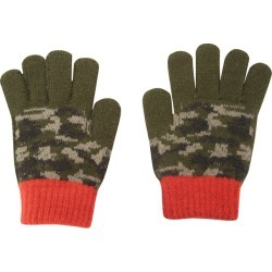 Camo Kids Knitted Gloves - Green found on Bargain Bro UK from Mountain Warehouse