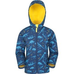 Exodus Kids Printed Water Resistant Softshell - Yellow found on Bargain Bro UK from Mountain Warehouse