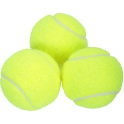 Mini-Tennis Balls - 3 Pack - Yellow found on Bargain Bro UK from Mountain Warehouse