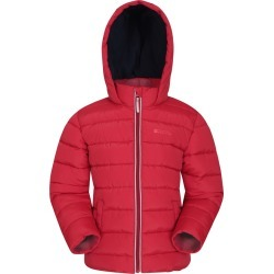 Eden Fleece Lined Kids Padded Jacket - Red found on Bargain Bro UK from Mountain Warehouse