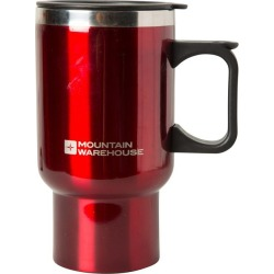 480ML Double Wall Travel Mug - Red found on Bargain Bro UK from Mountain Warehouse