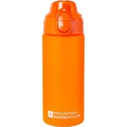 BPA Free Push Lid Bottle - 500ml - Orange found on Bargain Bro UK from Mountain Warehouse