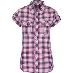 Holiday Womens Cotton Shirt - Pink found on MODAPINS from Mountain Warehouse US for USD $6.99