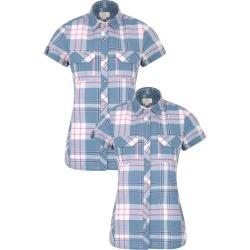 Holiday Womens Shirt Multipack - Blue found on MODAPINS from Mountain Warehouse for USD $41.39