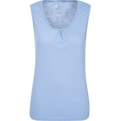 Agra Slub Womens Vest Top - Blue found on Bargain Bro UK from Mountain Warehouse