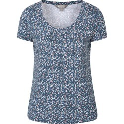 Orchid Womens Tee - Navy