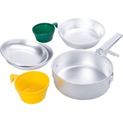 Two Person Cook Set - Silver found on Bargain Bro UK from Mountain Warehouse