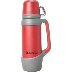 Flask With 2 Cups - 900ml - Red found on Bargain Bro UK from Mountain Warehouse