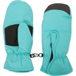 Kids Snow Mittens - Teal found on Bargain Bro UK from Mountain Warehouse