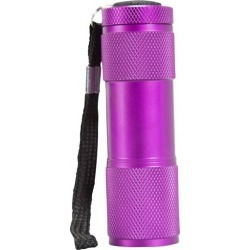 Fun 9 LED Gift Torch - Purple found on Bargain Bro UK from Mountain Warehouse