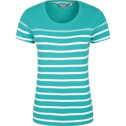 Dover Striped Womens Tee - Green