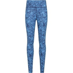 Patterned Womens High Rise Leggings - Blue found on Bargain Bro UK from Mountain Warehouse