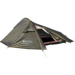 Backpacker Lightweight 2 Man Tent - Green found on Bargain Bro UK from Mountain Warehouse