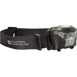 Extreme Sensor Cree USB Head Torch - Black found on Bargain Bro UK from Mountain Warehouse