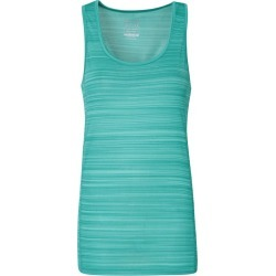 Endurance Striped Womens Vest - Green