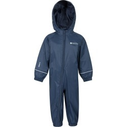 Puddle Kids Waterproof Rain Suit - Blue found on Bargain Bro UK from Mountain Warehouse
