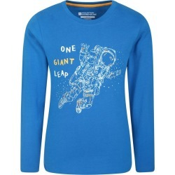 Astronaut Kids Top - Blue found on Bargain Bro UK from Mountain Warehouse