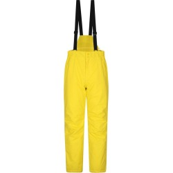 Dusk Short Mens Ski Pants - Yellow