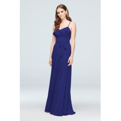 e4d59fd3a7b Ruffled Crinkle Chiffon Bridesmaid Dress Style F19921 found on MODAPINS  from David s Bridal for USD  99.95