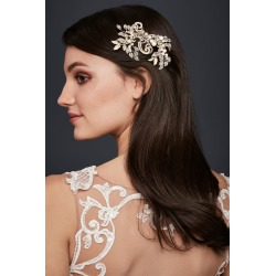Pearl and Crystal Scroll Hair Clip Style C400 found on Bargain Bro Philippines from David's Bridal for $129.95
