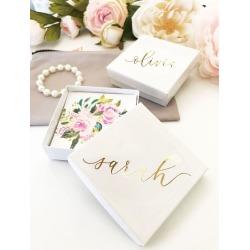 Personalized Jewelry Gift Box Style EB3130AD