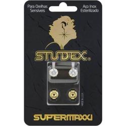 Brinco Studex Supermaxxi Dourado Pedra Branca 1 Unidade found on Bargain Bro India from DrogaRaia for $14.70
