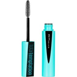 Máscara para Cílios Maybelline Total Temptation Waterproof 1 Unidade