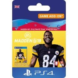 Madden NFL 19: Ultimate Team Starter Pack for PlayStation 4