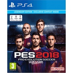 Pro Evolution Soccer 2018 - Legendary Edition - Only at GAME for PlayStation 4