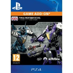 Transformers: Rise of the Dark Spark - Weathered Warrior Pack for PlayStation 4