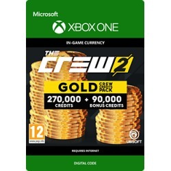 The Crew 2 Gold Crew Credits Pack for Xbox One