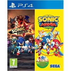 Sonic Forces & Sonic Mania Plus Double Pack - Only at GAME for PlayStation 4