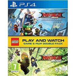 The LEGO® Ninjago Movie Game & Film Double Pack for PlayStation 4