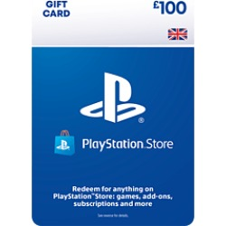 £100 PlayStation Network Wallet Top Up for PlayStation 4