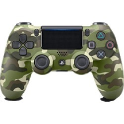PlayStation DUALSHOCK 4 Controller - Green Camouflage for PlayStation 4
