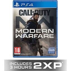 Call Of Duty Modern Warfare + GAME Exclusive 2XP for PlayStation 4