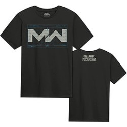 Call of Duty: Modern Warfare Black T-Shirt (L) - GAME Exclusive for Clothing and Merchandise