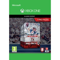 Madden NFL 17: 7 Pro Pack Bundle for Xbox One