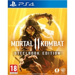 Mortal Kombat 11 Steelbook Edition - GAME Exclusive for PlayStation 4