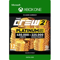 The Crew 2 Platinum Crew Credits Pack for Xbox One